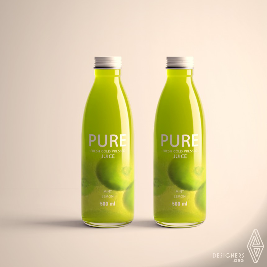 Inspirational Juice Packaging Design