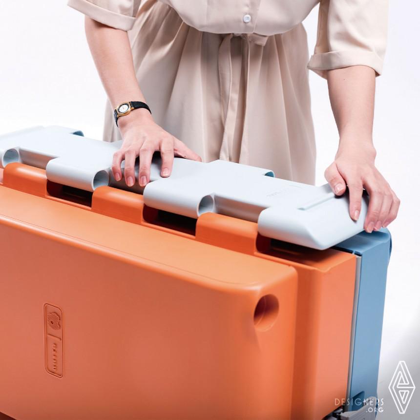 Inspirational Sustainability Suitcase Design