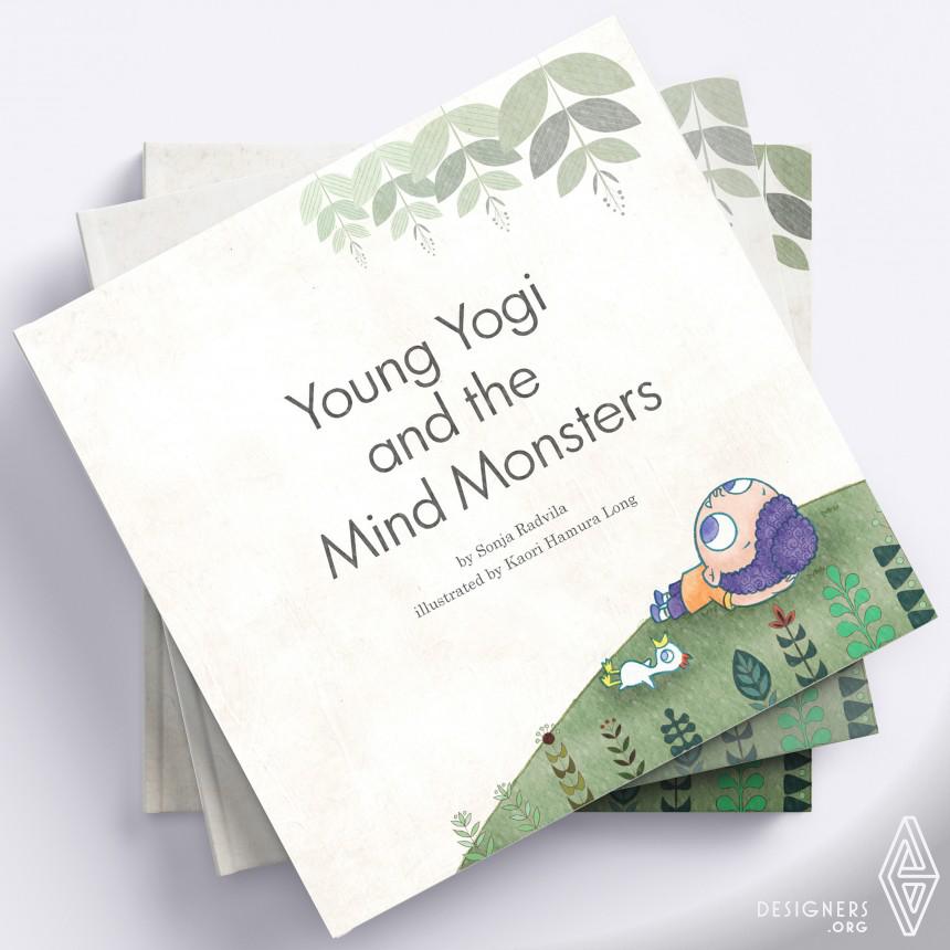 Young Yogi  Book Illustration