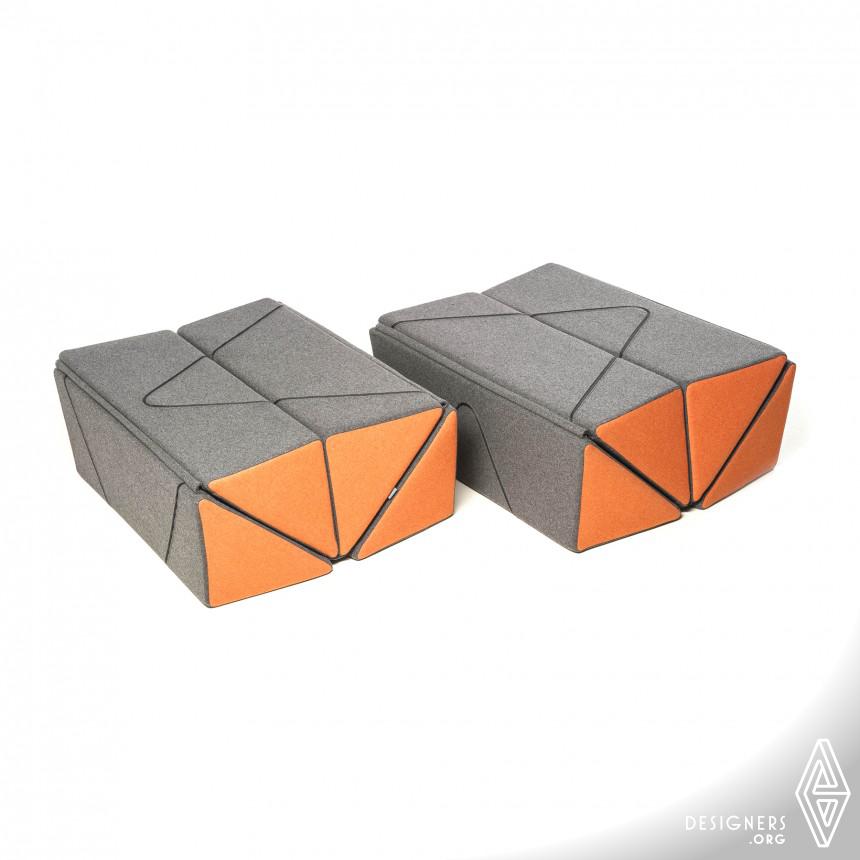 Inspirational Multifunctional Pouf Design
