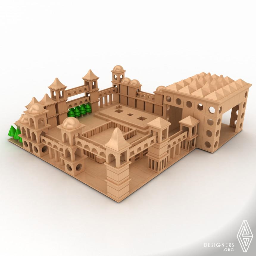 PowerTower Wooden Toy Set