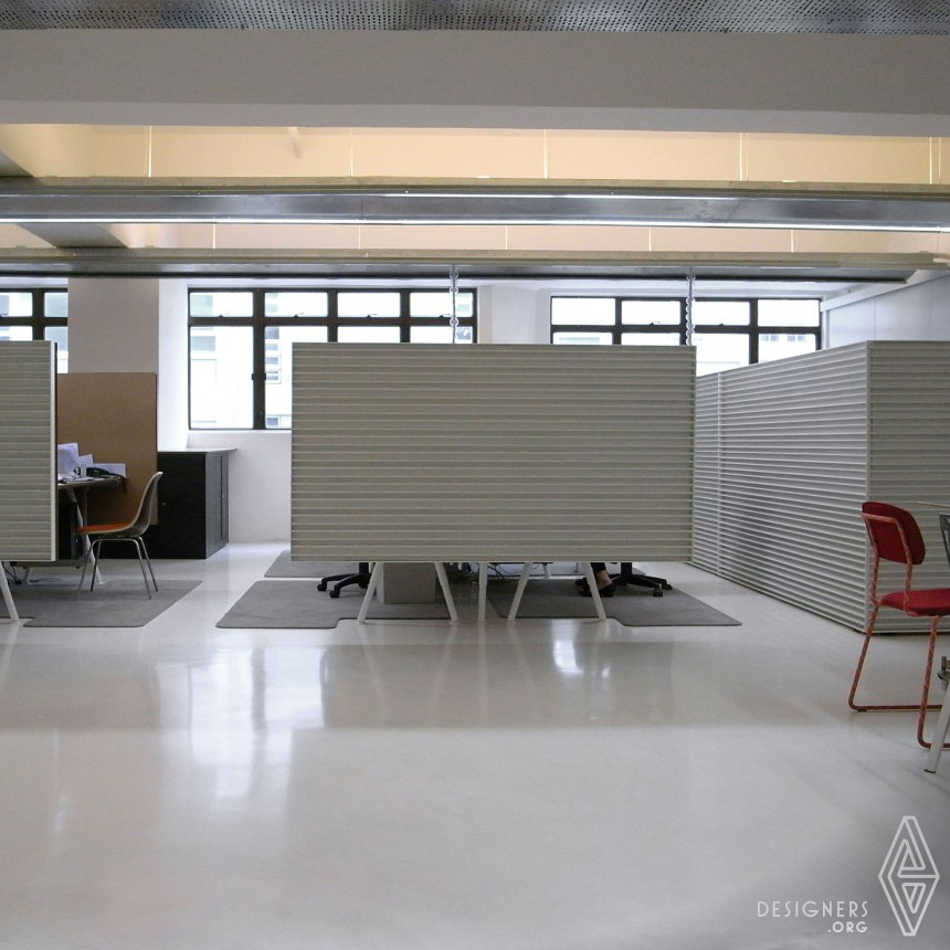 White Paper Office of an interior design firm Image