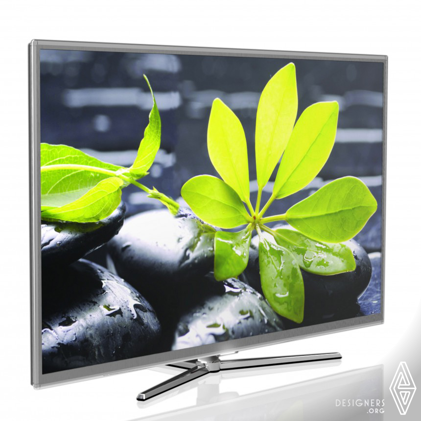 "Triump 47"" LED TV supporting the HD broadcast."