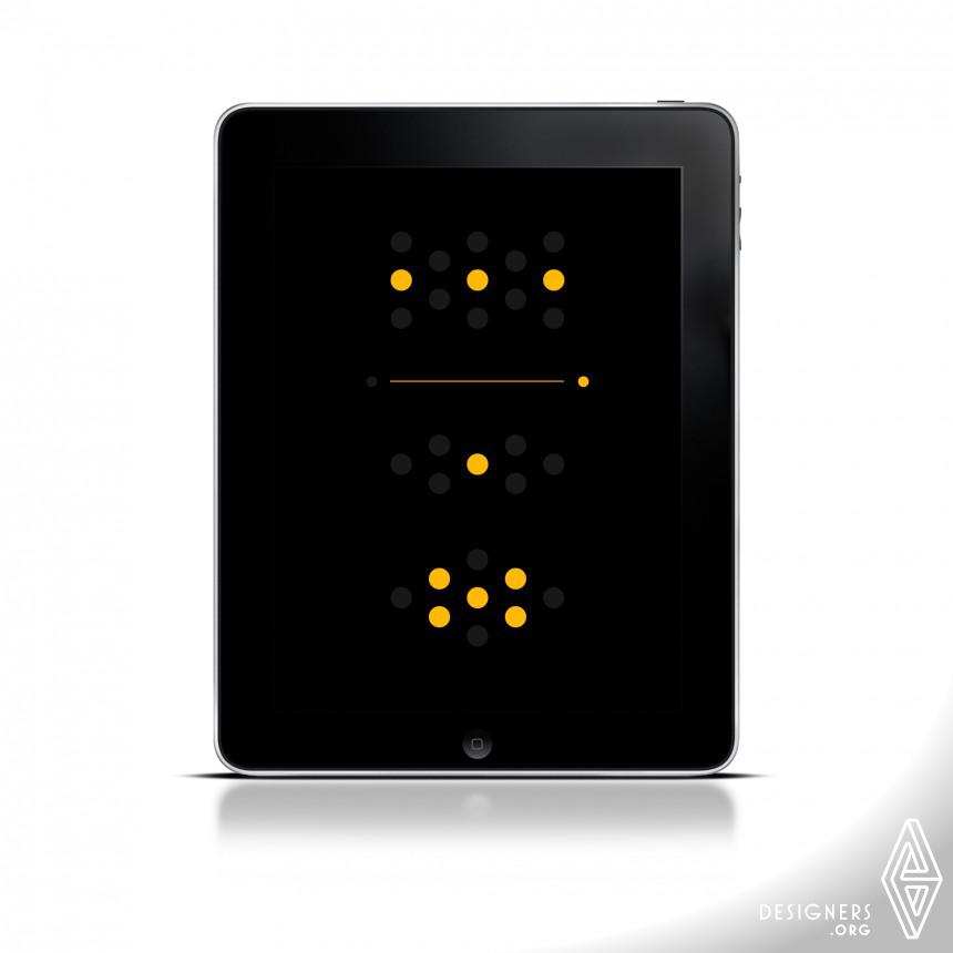 Inspirational Clock application. Design
