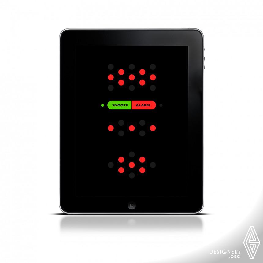Dominus plus Clock application. Image