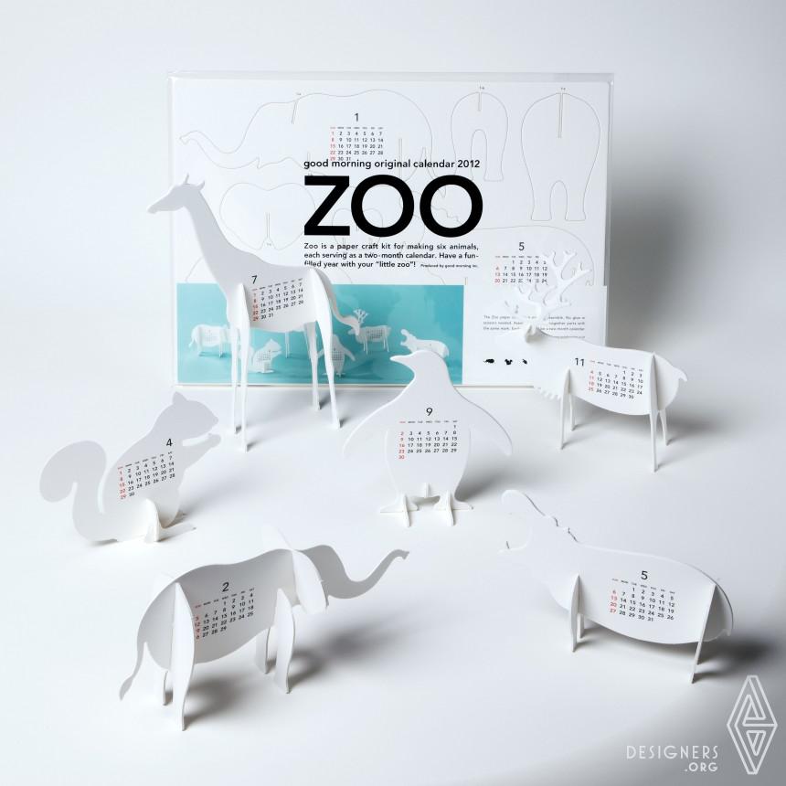 "good morning original calendar 2012 ""Zoo"" Calendar"