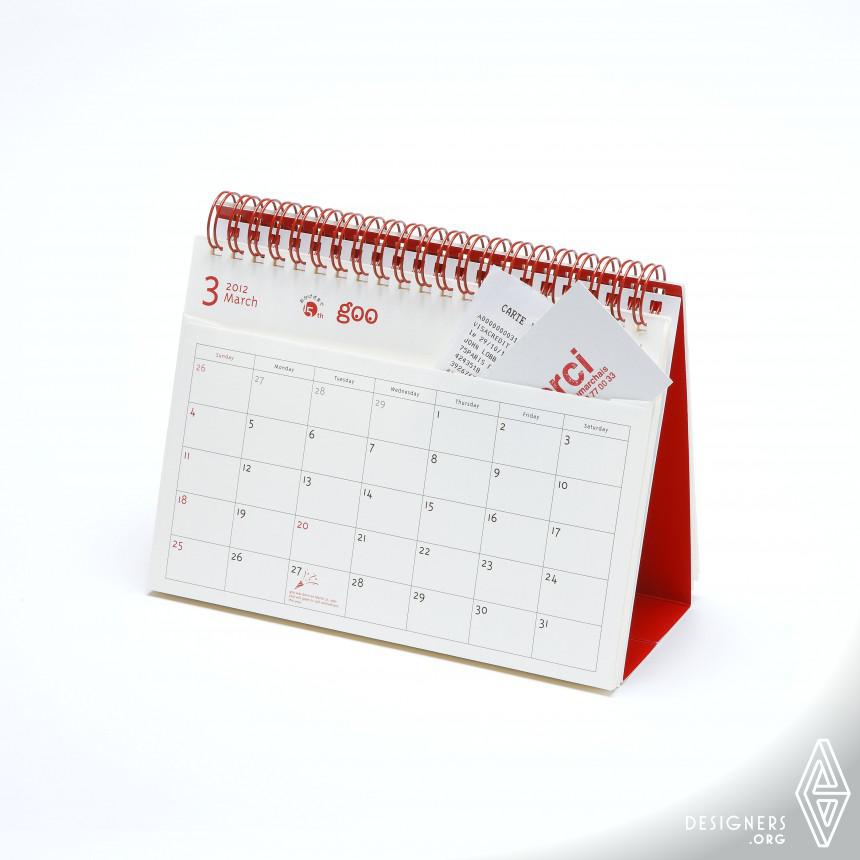 "goo calendar for your own ""12 Pockets"" Calendar"