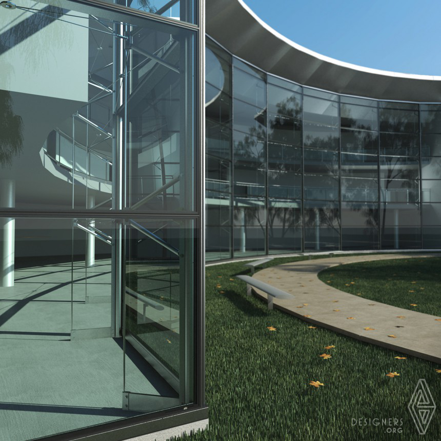 Inspirational Multiaxial curtain wall system Design