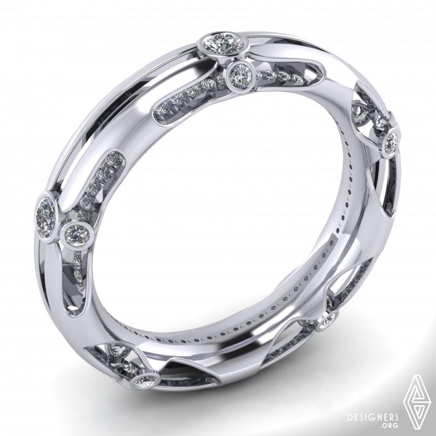 Bamboo Diamond Bracelet Jewelry