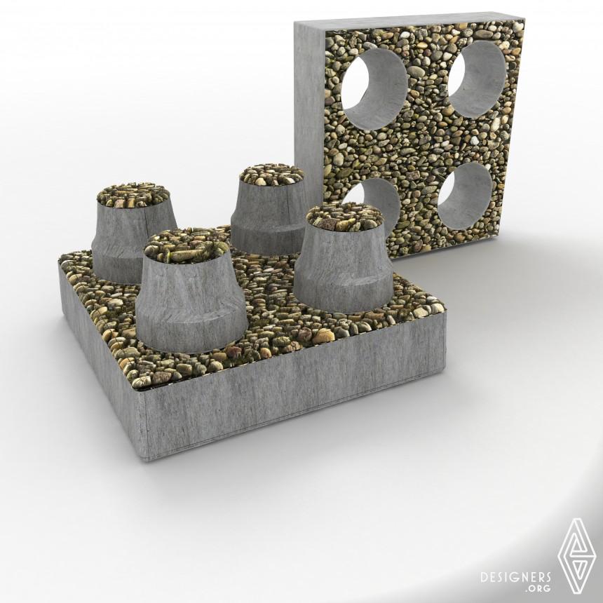 D-eco Brick Decorative Ecological Bricks