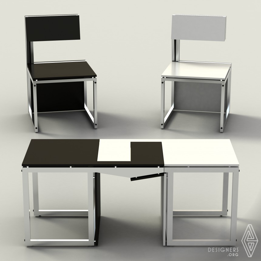 Sensei Transformable chairs/cofee table