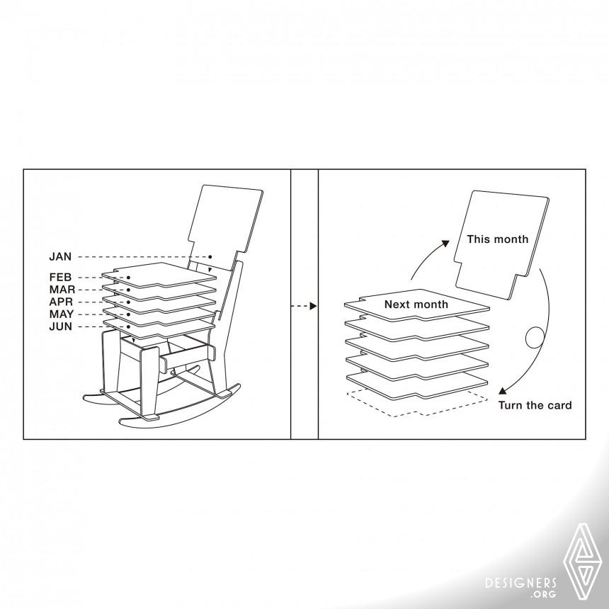 "Calendar 2013 ""Rocking Chair"" Calendar Image"