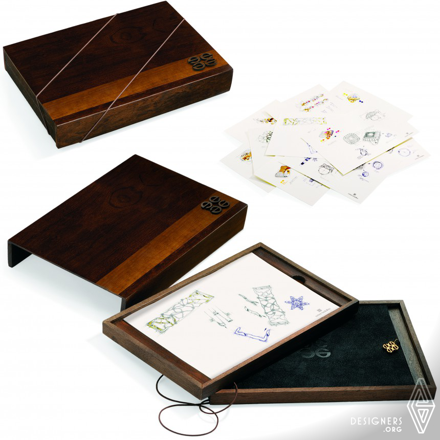 Emar Batalha- 10 years of design Catalog with wood box