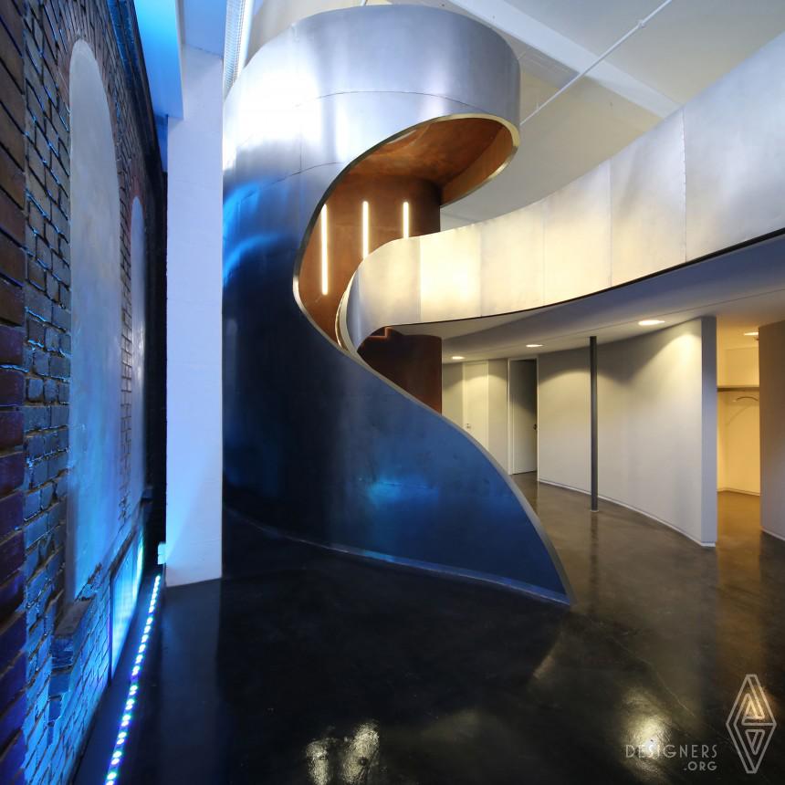 ajando Next Level C R M Corporate architecture concept