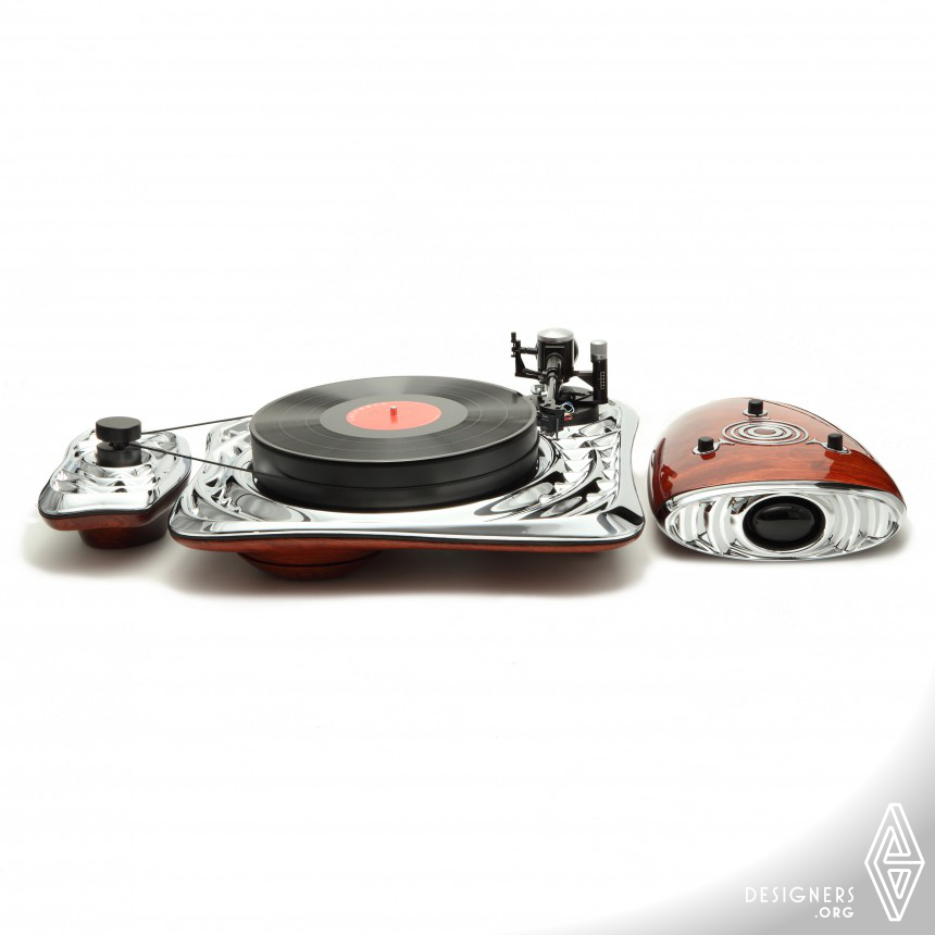 Calliope Hi-Fi turntable