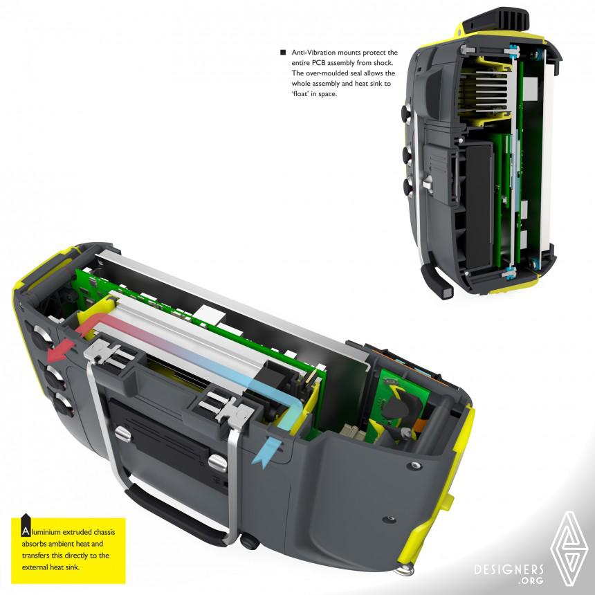 Inspirational Portable Ultrasonic Flaw Detector Design