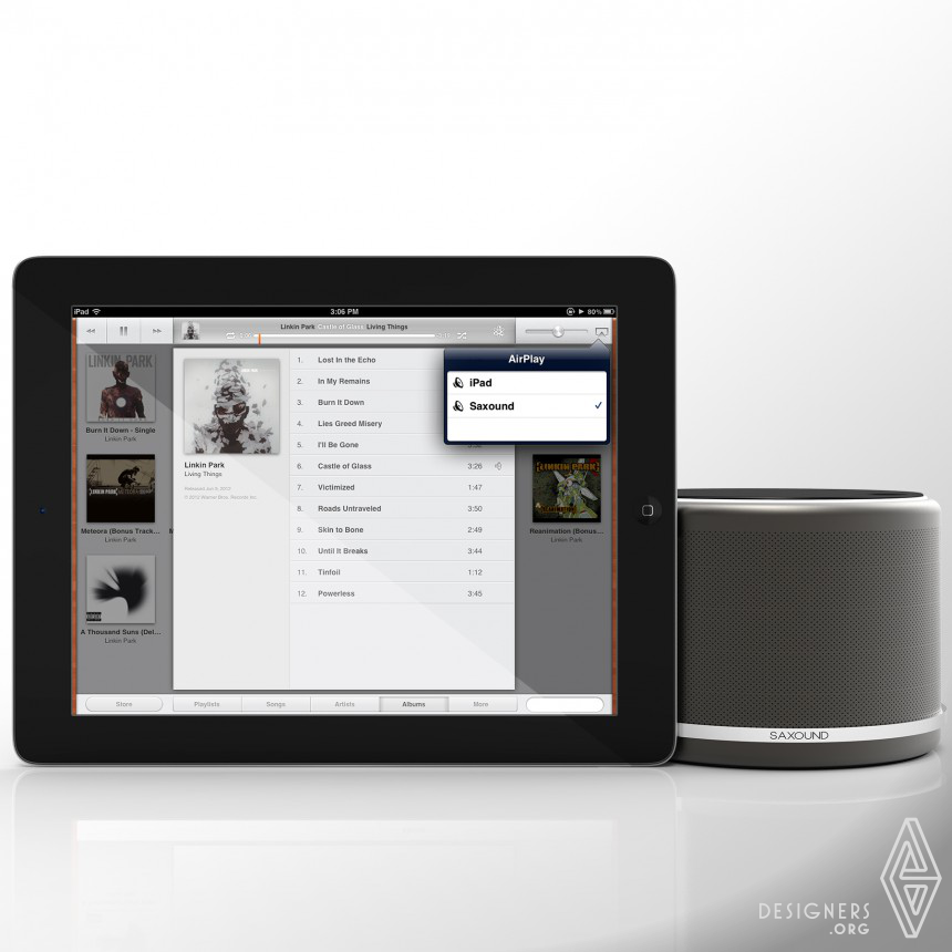 Inspirational Wireless Speaker Design