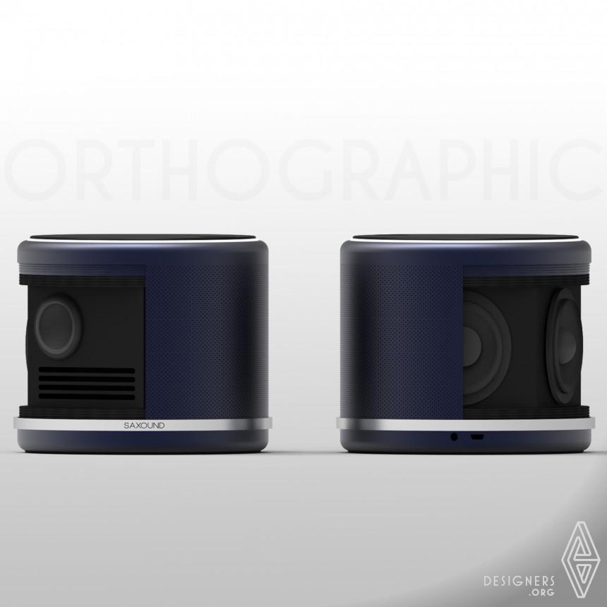 Saxound Wireless Speaker Image