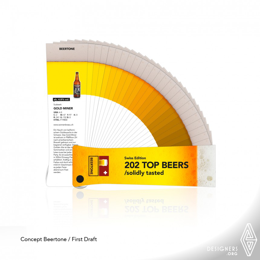 Inspirational Beer Color Swatches Design