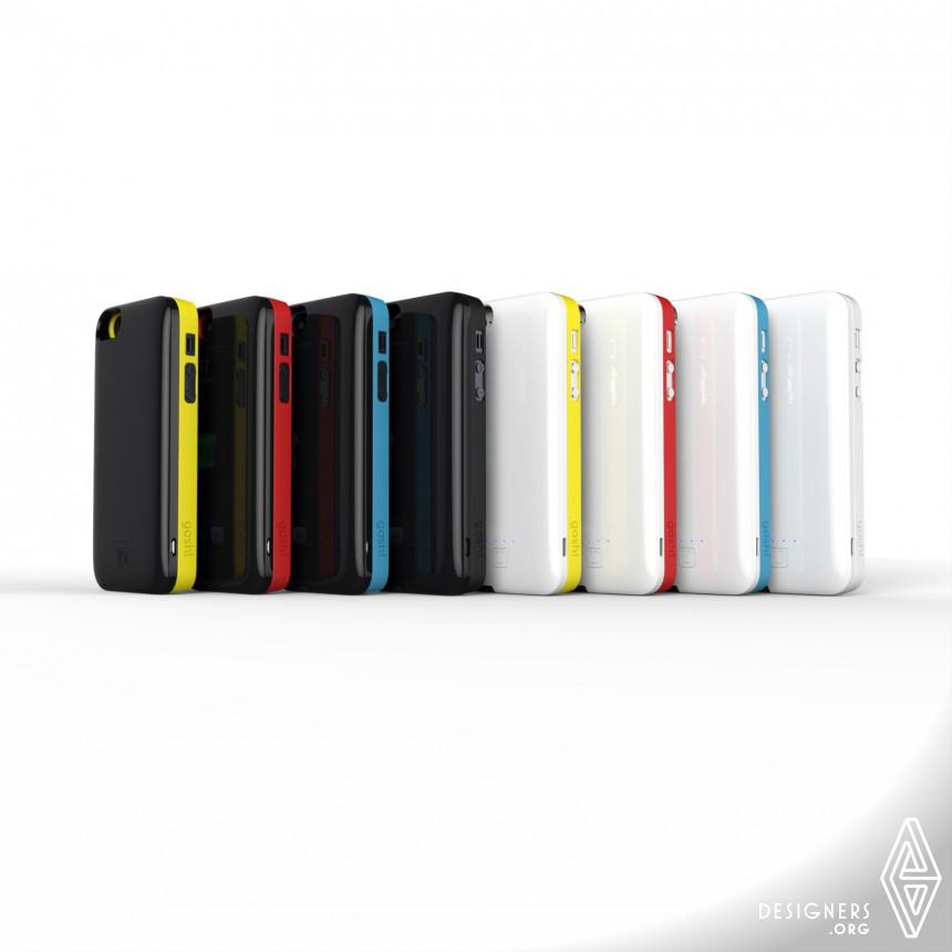 Inspirational Portable battery case Design