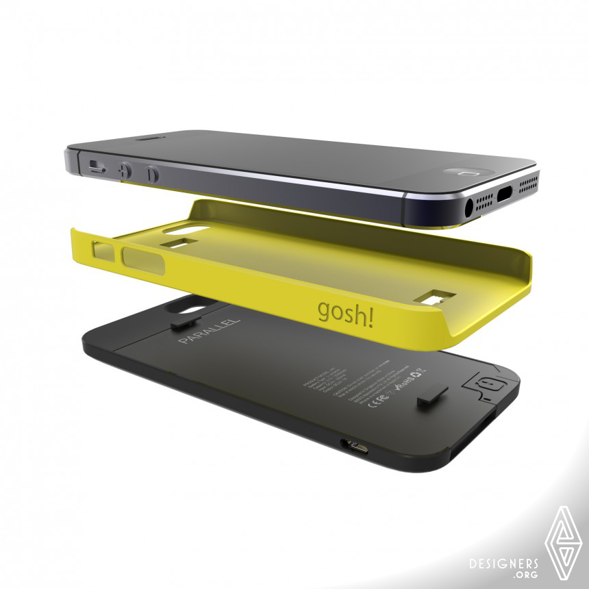 Parallel Portable battery case Image