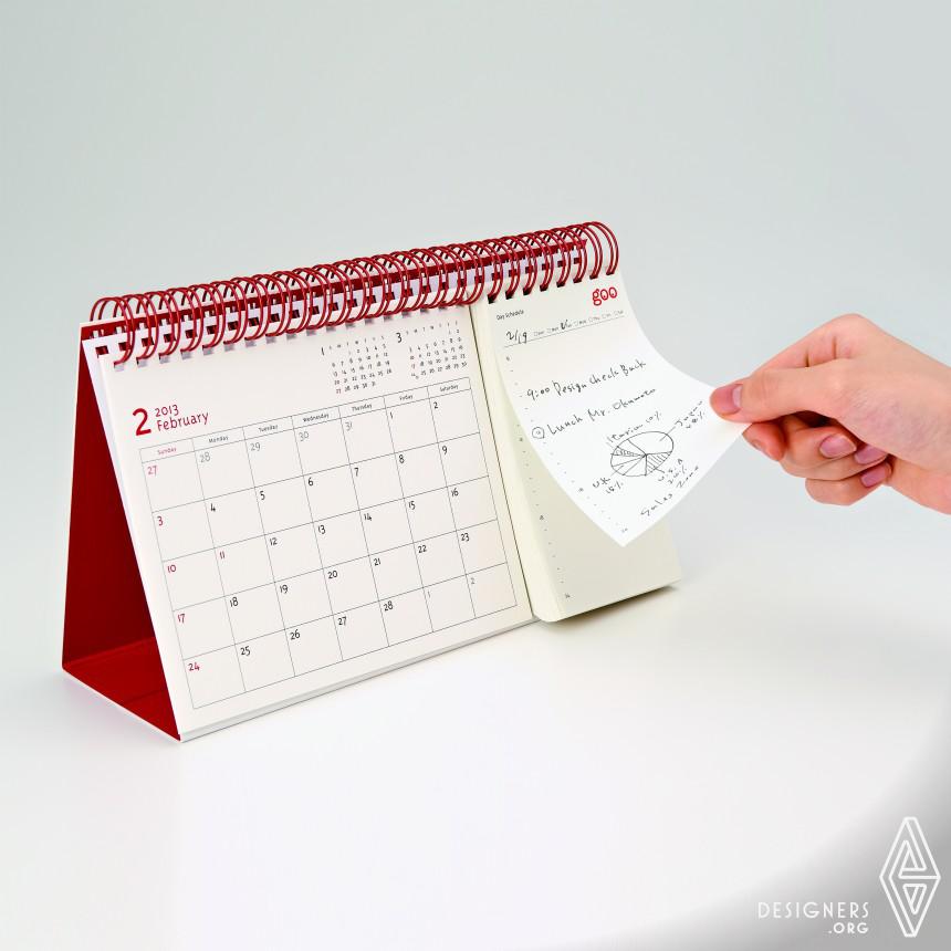 """2013 goo Calendar """"MONTH & DAY"""" Calendar"""