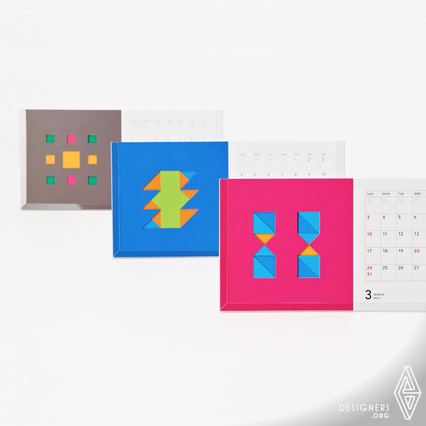 "NTT COMWARE 2013 Calendar ""Custom&Enjoy"" Calendar"