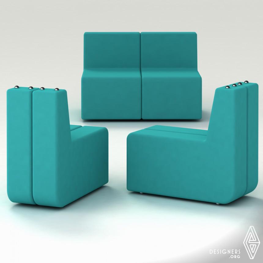 Inspirational Transformable sofa.  Design
