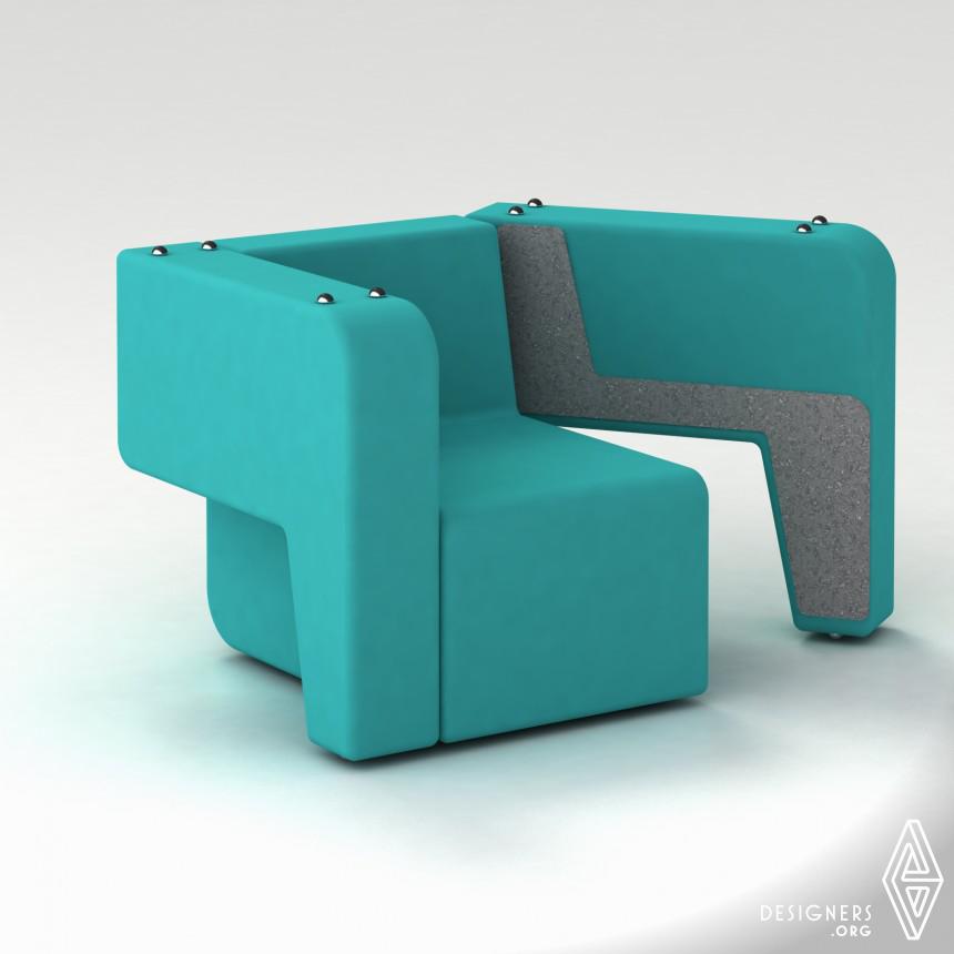 Mäss Transformable sofa.  Image