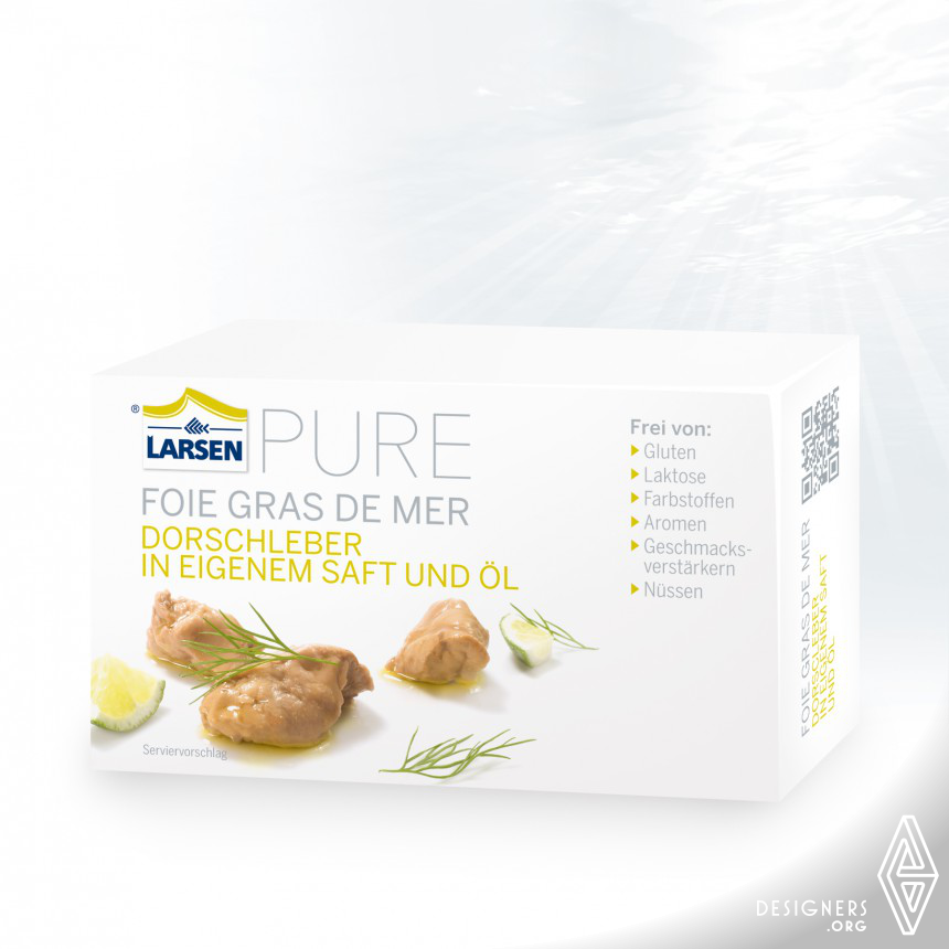 PURE Seafood packaging Image