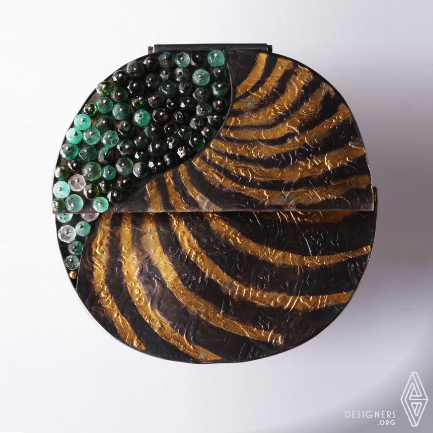 """Emerald"" - Project Asia Metamorphosis Brooch"