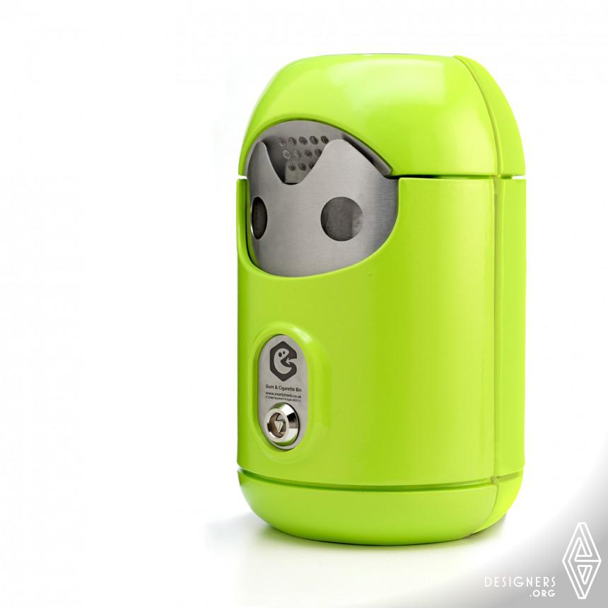 Smartstreets-Smartbin™ Cigarette / Gum bin Image