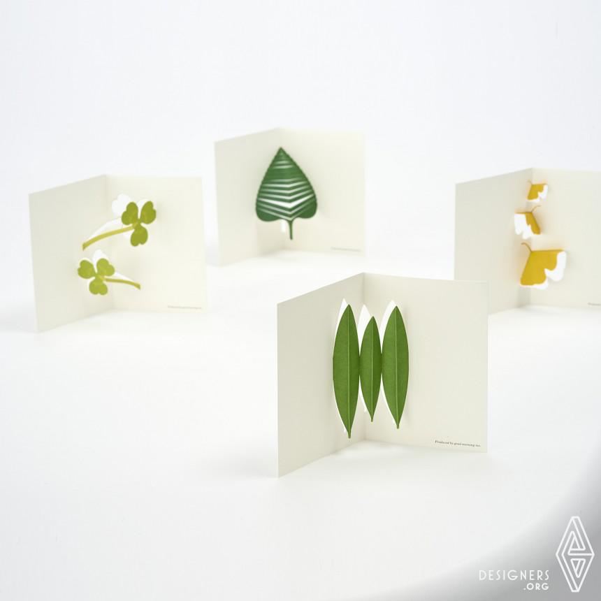 Inspirational Message Card Design