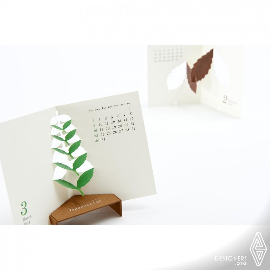 "Calendar 2014 ""Botanical Life"" Calendar Image"