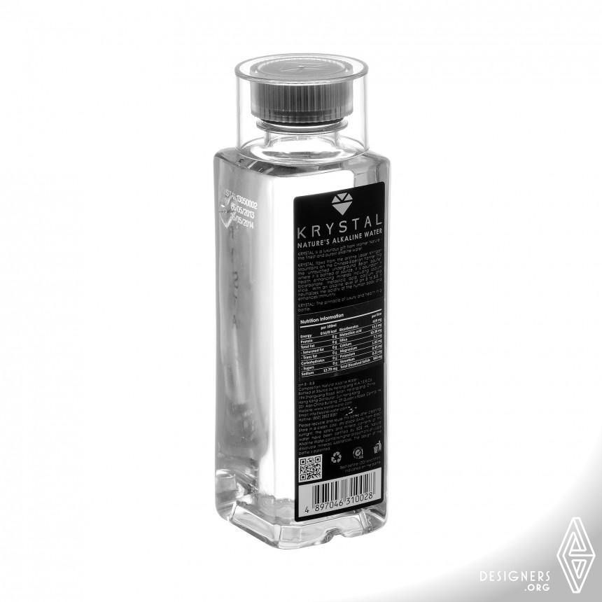 KRYSTAL Nature's Alkaline Water Packaging Image