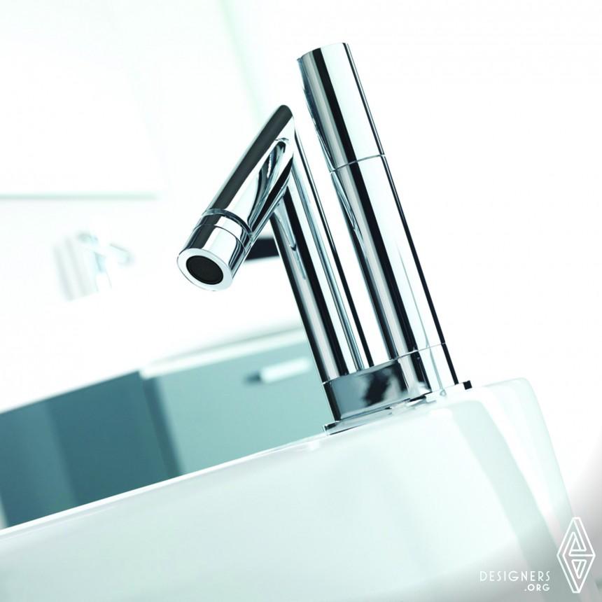 Straw Faucet Basin Mixer Image