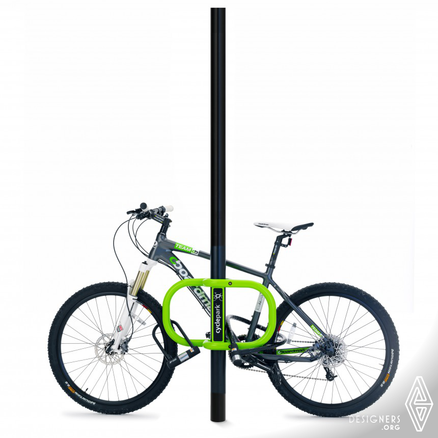 Smartstreets-Cyclepark™ Transformational bike parking