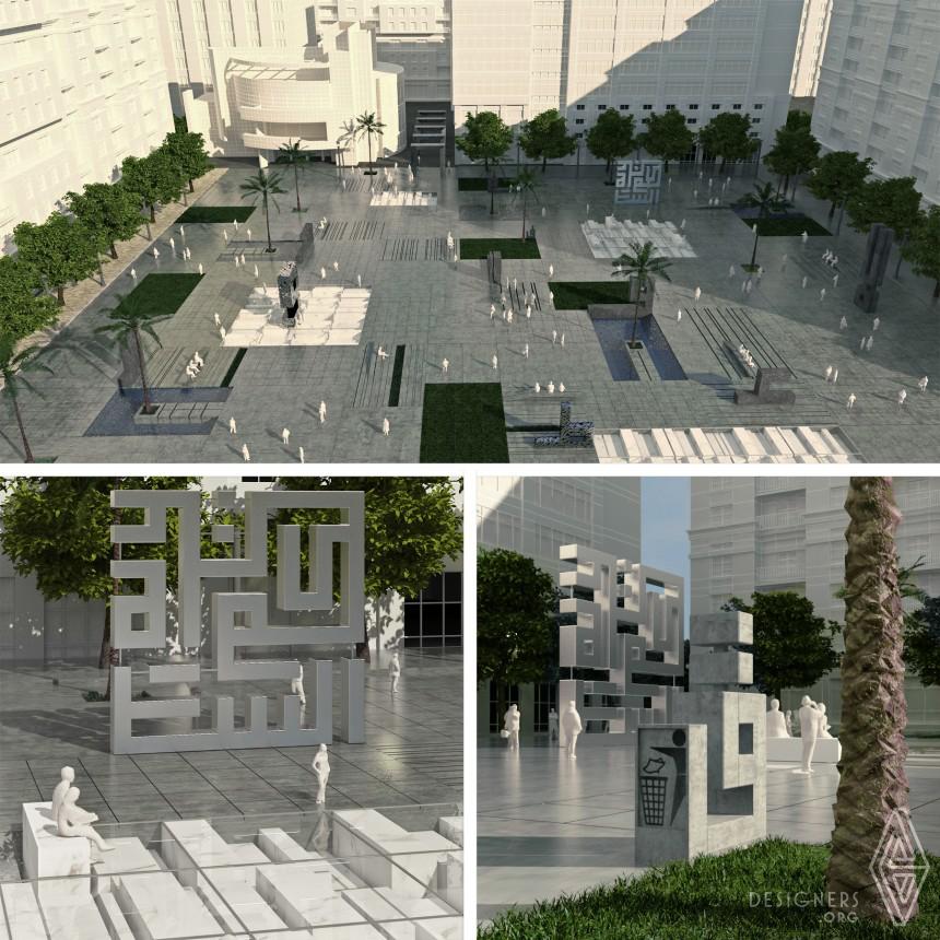 Brieven Piazza  Public Square Image