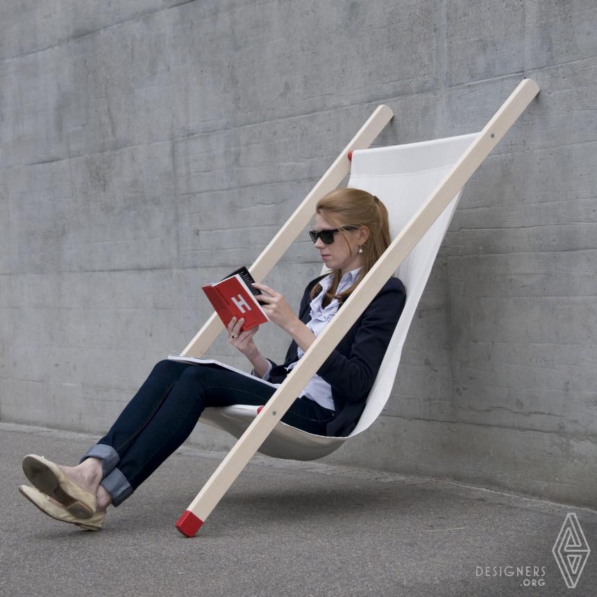 Curt deck chair Lean on chair