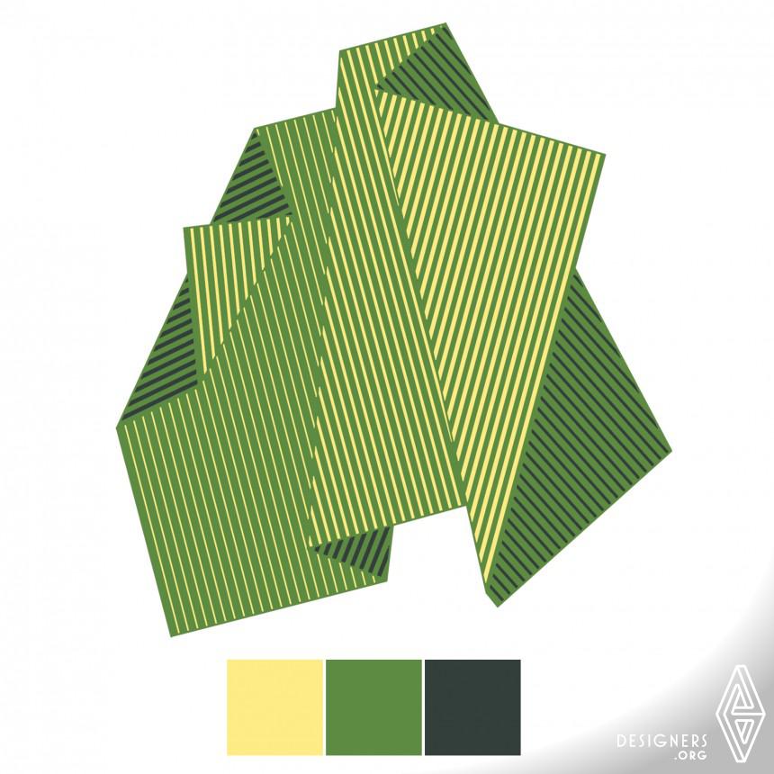 Folded Tones Rug Image