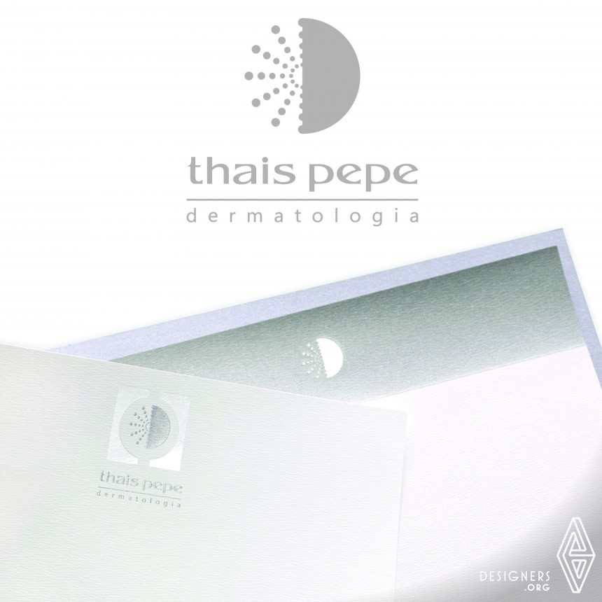 Thais Pepe clinic Identity Visual Communication