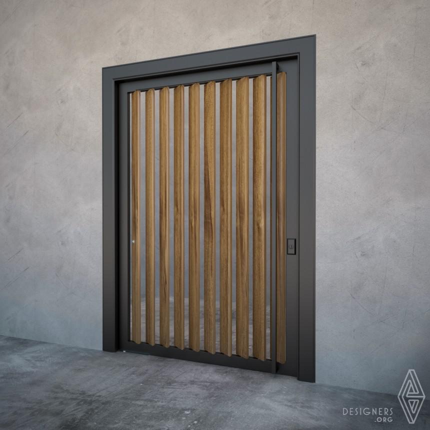 Inspirational Ventilated Pivot Door  Design
