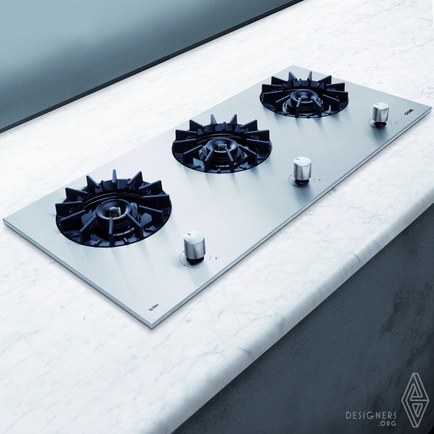 CAST  BUILT-IN GAS HOB