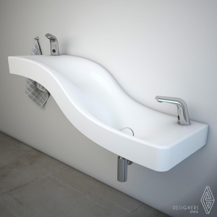 Serel Wave Washbasin