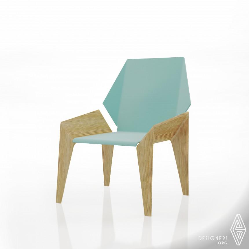 Origami-Inspired Furniture Designs By Aljoud Lootah - IGNANT | 860x860