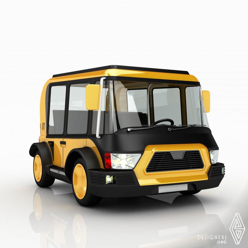Solar Taxi Vehicle