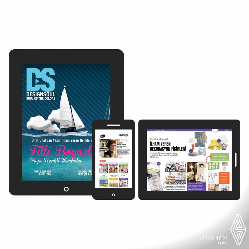 DesignSoul Digital Magazine Digital Interactive Magazine Image