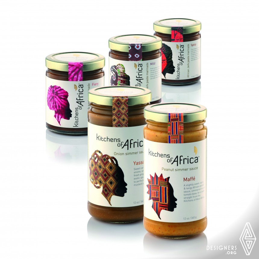 Kitchens of Africa Brand & Packaging Design