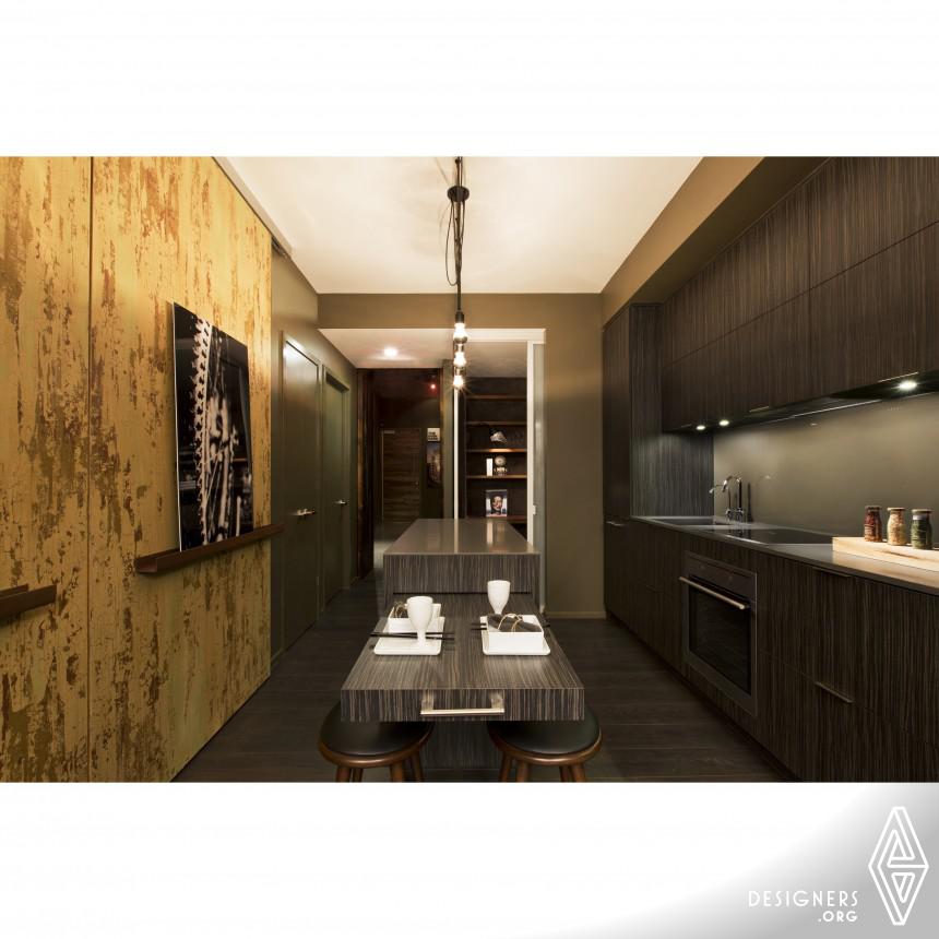 The High Park Condominium Model Suite