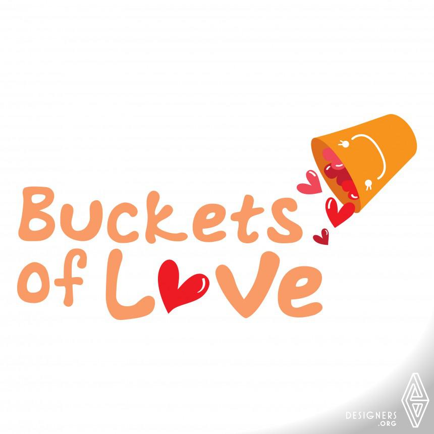 Buckets of Love Logo Design